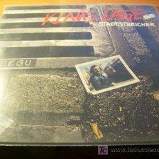 Discos de vinilo: KLAUS LAGE ( STADTSTREICHER ) LP. Lote 11291359