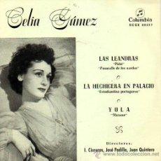 Discos de vinilo: CELIA GAMEZ / LAS LEANDRAS-LA HECHICERA EN PALACIO. Lote 27095876