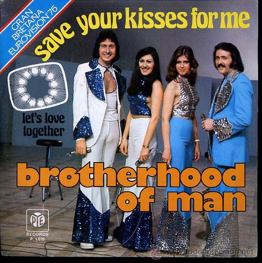 BROTHERHOOD OF MAN EUROVISION 1976 (Música - Discos - Singles Vinilo - Festival de Eurovisión)
