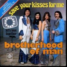 Discos de vinilo: BROTHERHOOD OF MAN EUROVISION 1976. Lote 23091403