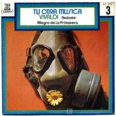 Discos de vinilo: VIVALDI - ANDANTE - ALEGRO DE LA PRIMAVERA - SINGLE 1971 S165. Lote 11888088