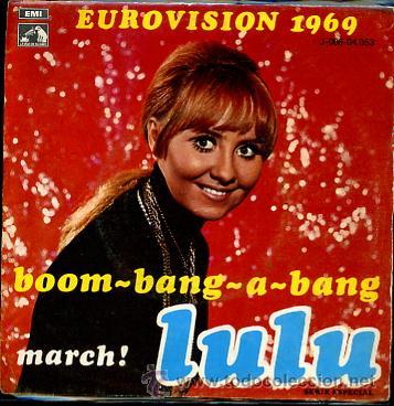 LULU EUROVISION 1969 (Música - Discos - Singles Vinilo - Festival de Eurovisión)