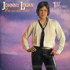Discos de vinilo: JOHNNY LOGAN. EUROVISION 1980. Lote 26908132