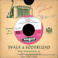 Discos de vinilo: MASSIEL. EUROVISION 1968. DISCO ALEMAN. Lote 26592424