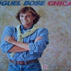 Discos de vinilo: MIGUEL BOSÉ - CHICAS - 1979 - ORIGINAL. Lote 25163564