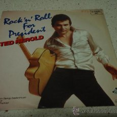 Discos de vinilo: TED HEROLD ( ROCK'N' ROLL FOR PRESIDENT - FRAG' NICHT NACH JUDY ) GERMANY-1980 SINGLE45. Lote 11348165
