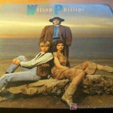 Disques de vinyle: WILSON PHILLIPS ( WILSON PHILLIPS ) LP ESPAÑA 1990 CON CREDITOS Y HOJAS PROMO (NM/NM)(AT). Lote 11356476