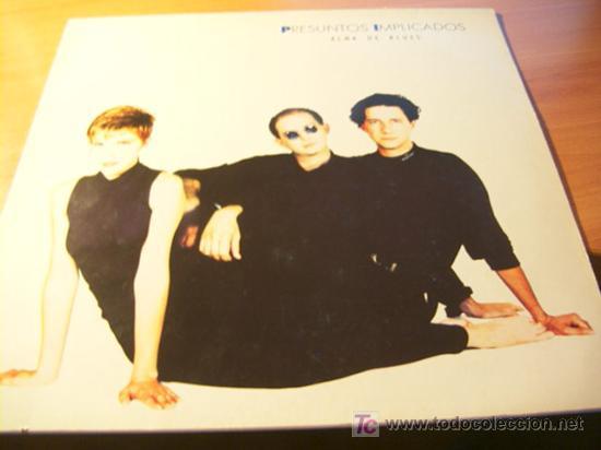 PRESUNTOS IMPLICADOS ( ALMA DE BLUES ) LP INCLUYE ENCARTE (Música - Discos - LP Vinilo - Grupos Españoles de los 90 a la actualidad)