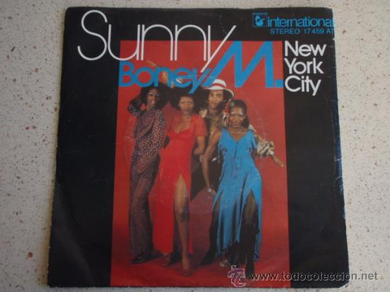 Discos de vinilo: BONEY M. ( SUNNY - NEW YORK CITY ) GERMANY SINGLE45 - Foto 1 - 11378557