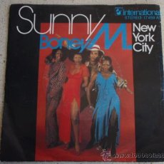 Discos de vinilo: BONEY M. ( SUNNY - NEW YORK CITY ) GERMANY SINGLE45. Lote 11378557