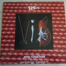 Discos de vinilo: THE WHO ( JOIN TOGETHER - I CAN SEE FOR MILES - BEHIND BLUE EYES ) USA-1990 EP45 VIRGIN. Lote 11379063