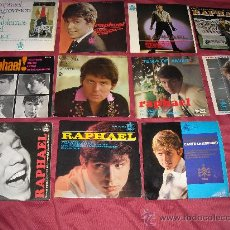 Discos de vinilo: RAPHAEL LOTE 11 EP ORIGINALES VER FOTOS ADICIONALES. Lote 25676063