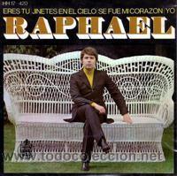Discos de vinilo: RAPHAEL LOTE 11 EP ORIGINALES VER FOTOS ADICIONALES - Foto 5 - 25676063