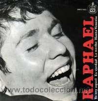 Discos de vinilo: RAPHAEL LOTE 11 EP ORIGINALES VER FOTOS ADICIONALES - Foto 12 - 25676063