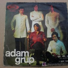 Discos de vinilo: ADAM GRUP - SPANISH SOUL 1967 - I GOT YOU (JAMES BROWN) //CRY, CRY, CRY. Lote 26725889