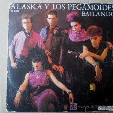 Discos de vinilo: ALASKA Y LOS PEGAMOIDES - EP - BAILANDO - MOVIDA SPAIN - POWER POP - 1980. Lote 26725885