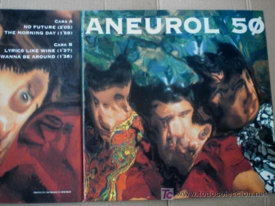 ANEUROL 50 - SPANISH PUNK EP - NO FUTURE - 1994 - ROCK INDIANA - FOLD OUT COVER (Música - Discos de Vinilo - EPs - Grupos Españoles de los 70 y 80)