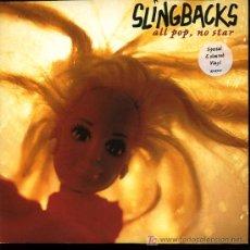 Discos de vinilo: SLINGBACKS - ALL POP, NO STAR / CHAINLETTER - 1996 - VINILO AMARILLO (VER FOTO ADJUNTA). Lote 18044107