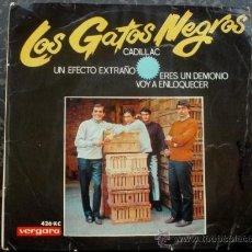 Discos de vinilo: GATOS NEGROS - EP SPAIN - CADILLAC - PSYCH GARAGE MONSTER. Lote 26831224