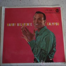 Discos de vinilo: HARRY BELAFONTE 'CAYPSO' (DAY O - I DO ADORE HER - BROWN SKIN GIRL - DOLLY DAWN ) 1956 EP45 RCA. Lote 11395608
