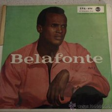 Discos de vinilo: HARRY BELAFONTE (SYLVIE - IN THAT GREAT GETTIN' UP MORNIN' - JUMP DOWN, SPIN AROUND) EP45 1956. Lote 11396073