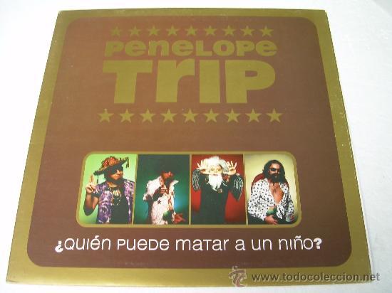 LP PENELOPE TRIP QUIEN PUEDE MATAR A UN NIÑO VINILO LOS PLANETAS (Música - Discos - LP Vinilo - Grupos Españoles de los 90 a la actualidad)