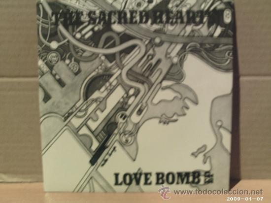 THE SACRED HEARTS ---- LOVE BOMB - EP (Música - Discos de Vinilo - EPs - Pop - Rock - New Wave Extranjero de los 80)