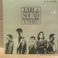 Discos de vinilo: THE BIG SOUND AUTHORITY ---- THIS HOUSE + 3 - EP. Lote 11438150
