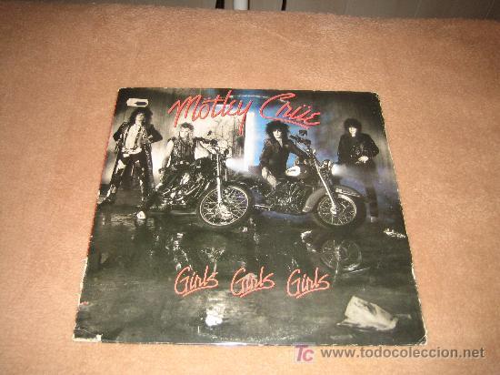 MOTLEY CRÜE (Música - Discos - LP Vinilo - Pop - Rock - New Wave Extranjero de los 80)