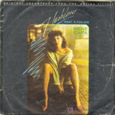 Discos de vinilo: UXV IRENE CARA FLASHDANCE SINGLE VINILO BANDA SONORA PELICULA WHAT A FEELING 1983 MUSICA DANCE. Lote 27272963