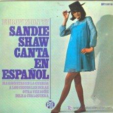 Discos de vinilo: UXV SANDIE SHAW SINGLE VINILO EUROVISION 1967 CANTA EN ESPAÑOL MARIONETAS EN LA CUERDA . Lote 11598998