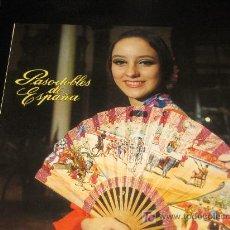 Discos de vinilo: PASODOBLES DE ESPAÑA - BELTER - RONDALLA GENERALIFE DIRECTOR: VICENTE EL GRANAINO. Lote 12179212