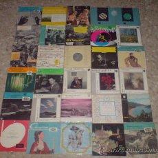 Discos de vinilo: SUPERLOTE DE VINILOS DE 10 PULG. - DISCOS DE MUSICA CLASICA Y OPERA - SCHUBERT CHOPIN PUCCINI. Lote 21882571