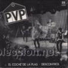 Discos de vinilo: P.V.P.: EL COCHE DE LA PLAS SINGLE 7 BELTER 1982. Lote 26413685
