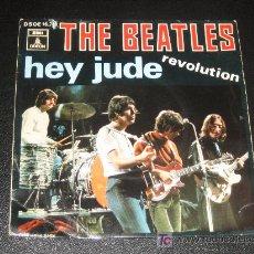 Discos de vinilo: THE BEATLES - HEY JUDE - REVOLUTION. Lote 11498436