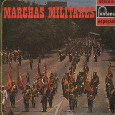 Discos de vinilo: BANDA DEL BATALLÓN DEL MINISTERIO DEL EJÉRCITO - MARCHAS MILITARES - LP 1969. Lote 11521586
