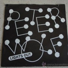 Discos de vinilo: PETER WOLF ( LIGHTS OUT - POOR GIRL'S HEART ) HOLANDA-1984 SINGLE45 EMI AMERICA. Lote 11521989