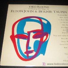 Discos de vinilo: ELTON JOHN & BERNIE TAUPIN CON ERIC CLAPTON, BEACH BOYS, WHO, Y OTROS ..DOBLE LP. Lote 11527738