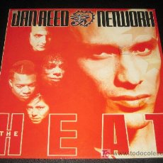 Discos de vinilo: DAN REED - NETWORH - THE HEAT. Lote 11534145