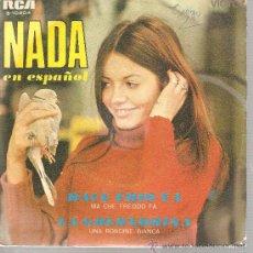 Dischi in vinile: SINGLE NADA - HACE FRIO YA - CANTA EN ESPAÑOL . Lote 23779357