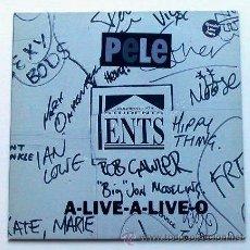 Discos de vinilo: PELE - A-LIVE-A-LIVE-O (LP). Lote 26861380
