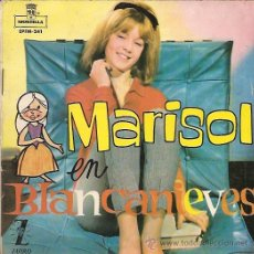 Discos de vinilo: MARISOL EP SELLO ZAFIRO AÑO 1963 EN BLANCANIEVES . Lote 11576060