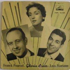 Discos de vinilo: GLORIA LASSO Y LUIS MARIANO - EP LA VOZ DE SU AMO. Lote 16057423