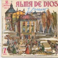Discos de vinilo: ALFREDO KRAUS,ALMA DE DIOS. Lote 11595522