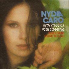 Discos de vinilo: LP NYDIA CARO - HOY CANTO POR CANTAR - FESTIVAL DE LA O.T.I.. Lote 22684825