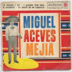 Discos de vinilo: DISCO *MIGUEL ACEVES MEJIA* - MARIACHI - 1962. Lote 23071212
