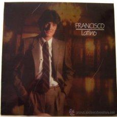 Discos de vinilo: DISCO LP VINILO -LATINO-FRANCISCO-POLYDOR-AÑO 1981. Lote 11616328