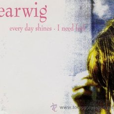 Discos de vinilo: EARWIG - EVERY DAY SHINES (D. MIX) / I NEED FEEL (MAXISINGLE 45 RPM). Lote 26950679