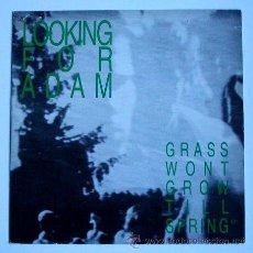 Discos de vinilo: LOOKING FOR ADAM - GRASS WON'T GROW TILL SPRING / HAPPY NOW / WEEKENDS / WALK... -(MAXISINGLE 45 R). Lote 26950650