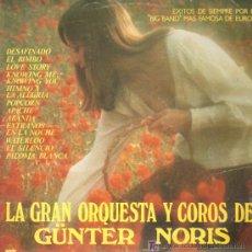 Discos de vinilo: GUNTER NORIS - EXITOS DE SIEMPRE POR LA BIG BAND MAS FAMOSA DE EUROPA - LP 1978. Lote 11633831